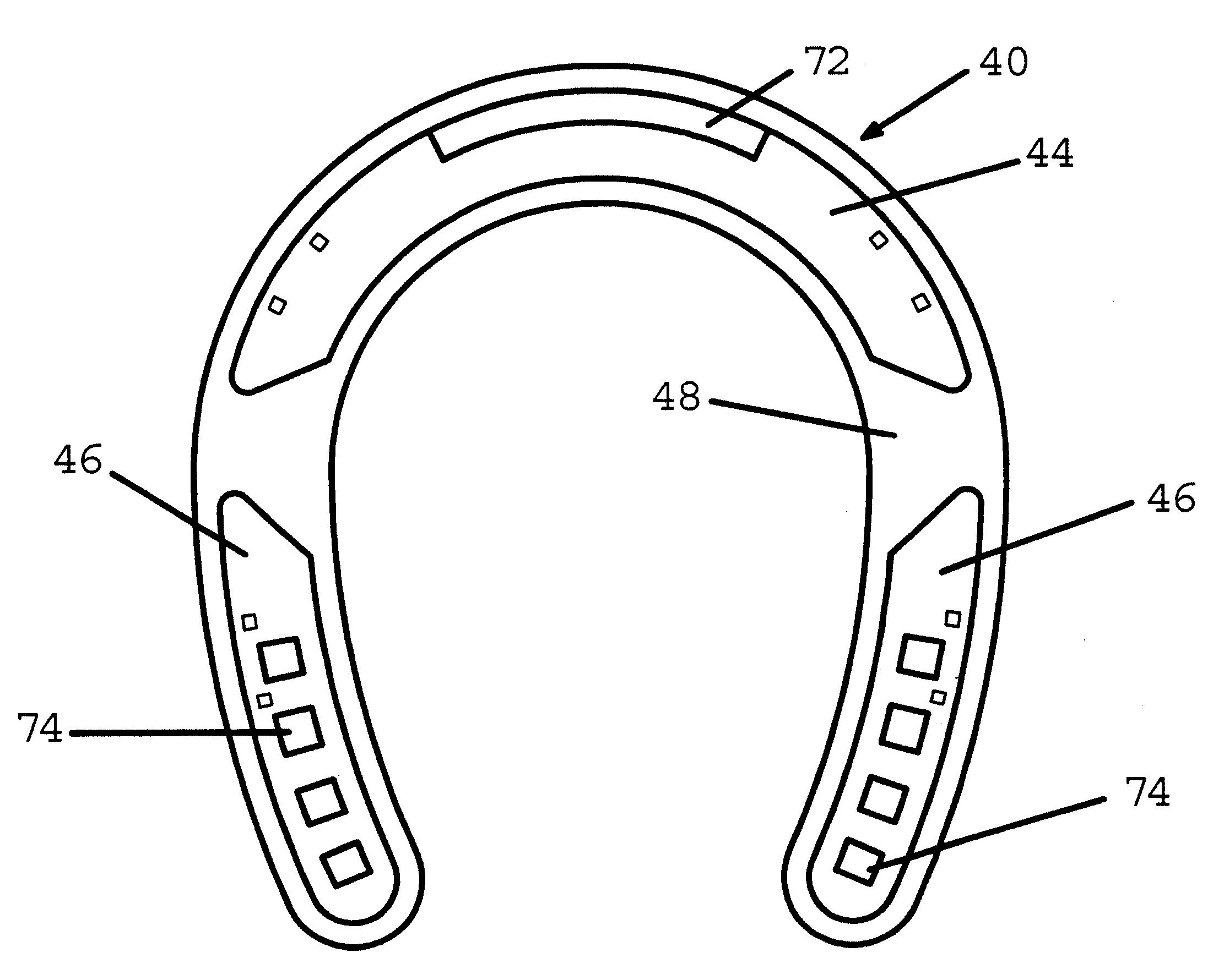 Drawn horseshoe horsesho Google Drawing Horseshoe US6497293 Patents