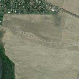 Drawn horseshoe map coordinates Longitude latitude Lake GPS