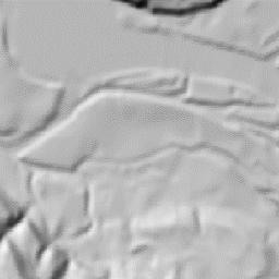 Drawn horseshoe map coordinates Run County Topo Run Topo