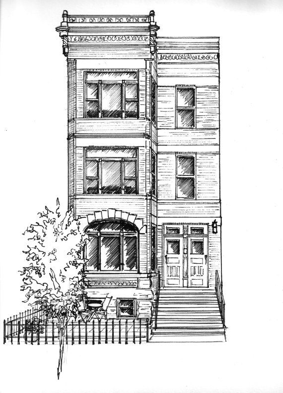 Drawn hosue family drawing Family black draw house original