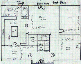 Drawn hosue graph paper Plans House by plans by