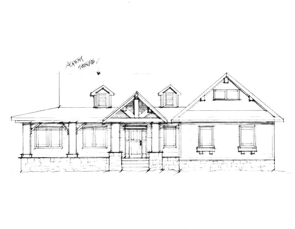 Drawn hosue inside Drawing for design Design House