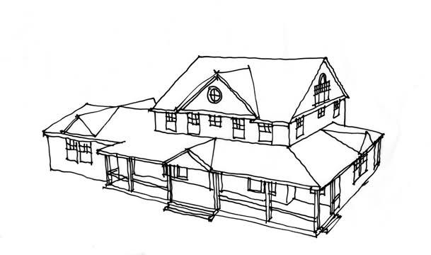 Drawn hosue porch Porch House How you A