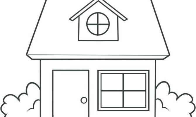 Drawn hosue simple House 21 Draw Building 43642