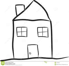 Drawn hosue simple Google drawings Google art