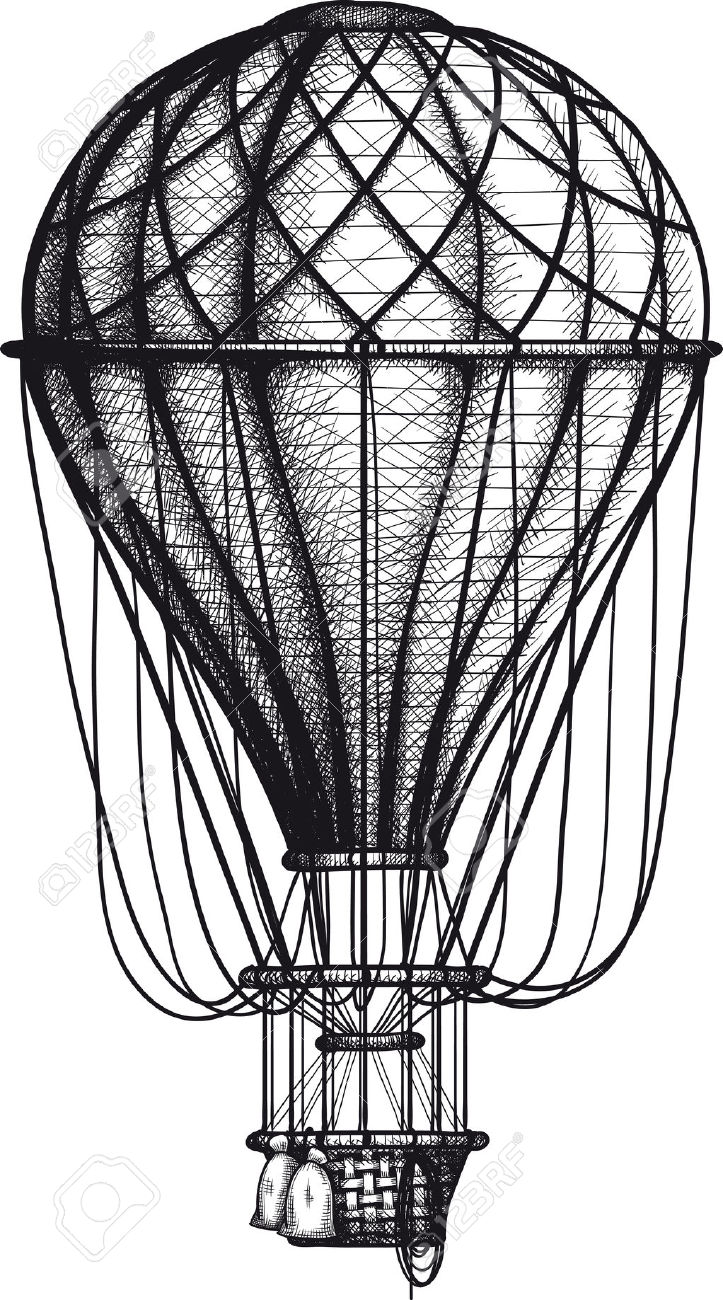 Drawn hot air balloon Copyright air balloon balloon hot