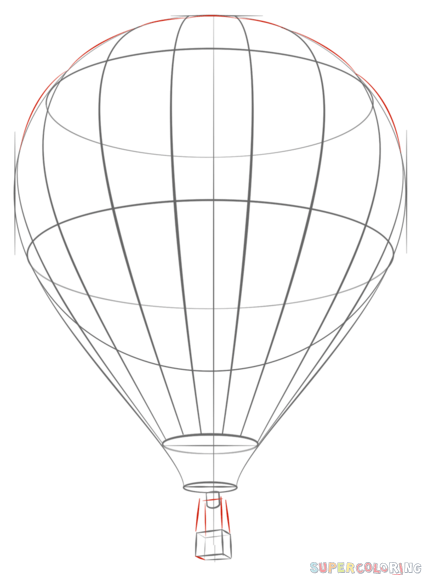 Drawn hot air balloon How Hot a Air by