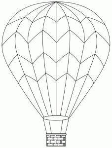 Drawn hot air balloon Déco vers Pinterest l'imaginaire