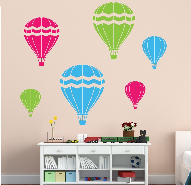 Drawn hot air balloon Balloon hot Wall air photography