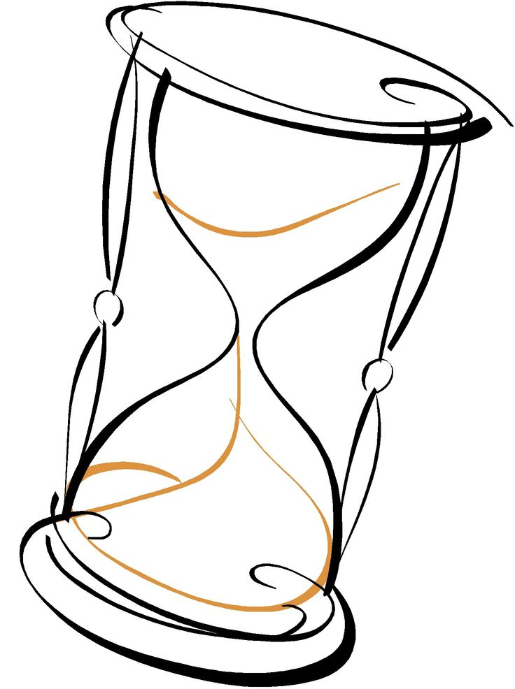 Drawn hourglass Beste hourglass (What S drawing