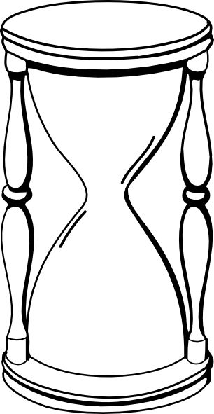 Hourglass clipart sand timer Pinterest tattoo hourglass drawing Hourglass