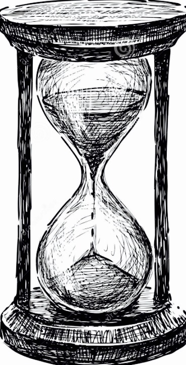 Hourglass clipart sand timer Tattoo dreamstime http://www drawing hourglass