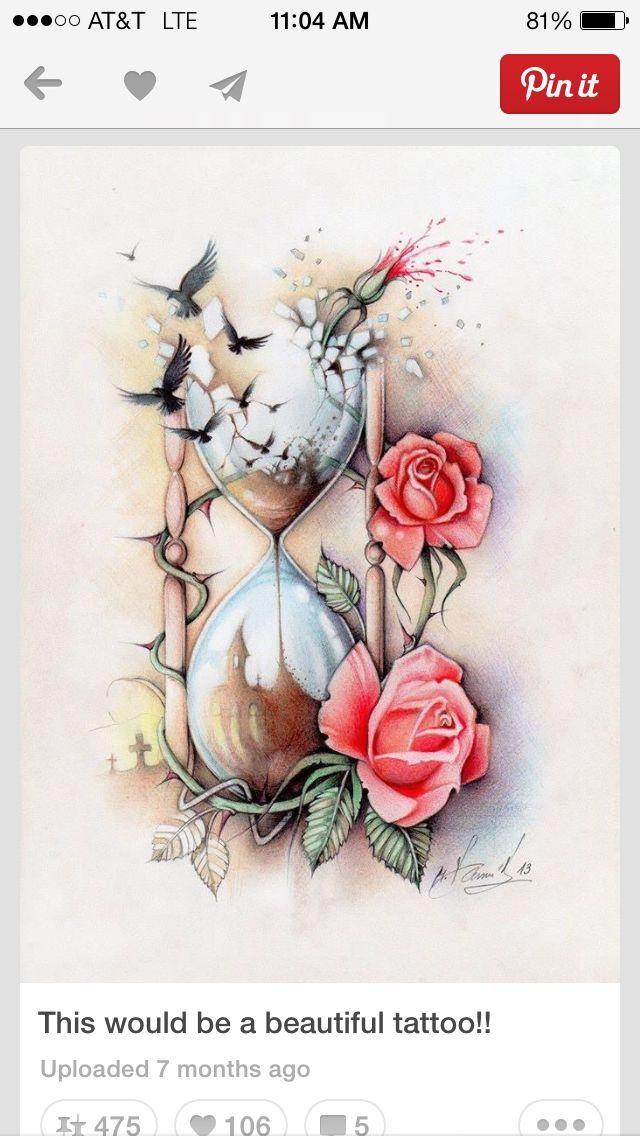 Drawn hourglass Time 136 Pinterest 640×1 jpg