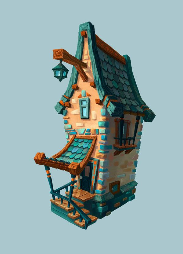 Drawn house 2d cartoon On drawing and more Find