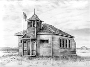 Drawn house abandoned house Diane Graphite Pencil Drawings Wright