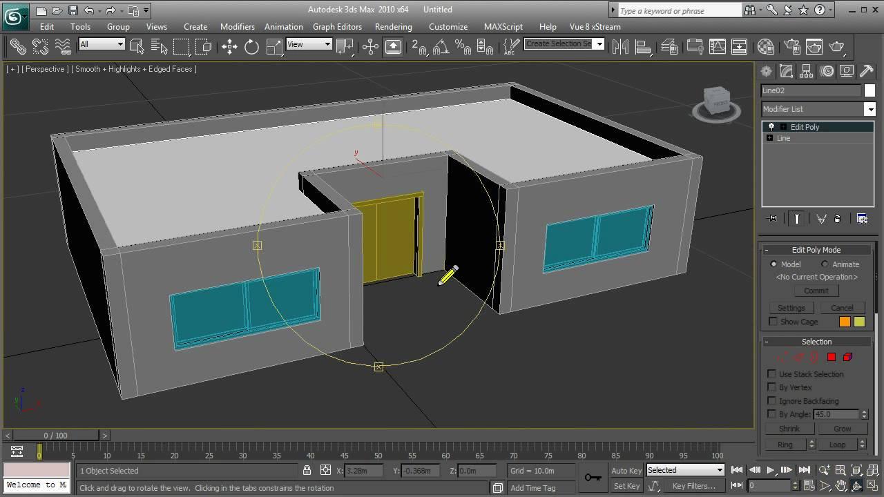 Drawn hosue beginner HD max HD Simple house