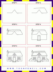 Drawn hosue beginner On Draw Pinterest images best
