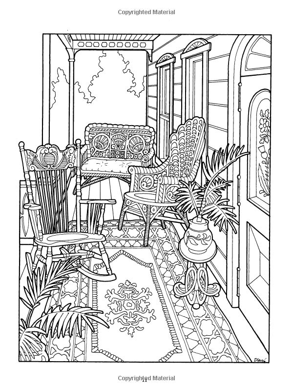 Drawn hosue colouring book House Pinterest 1103 on Book