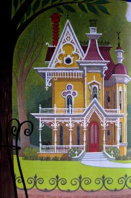 Drawn hosue dream house  illustrations and Victorian 25+