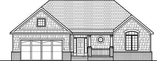Drawn hosue simple Simple Montgomery 3  level