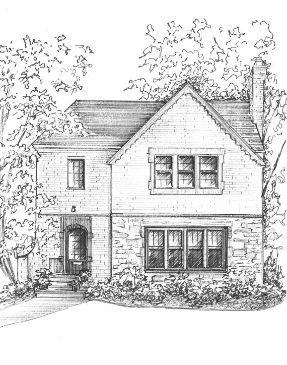Drawn hosue family drawing House about draw house photo