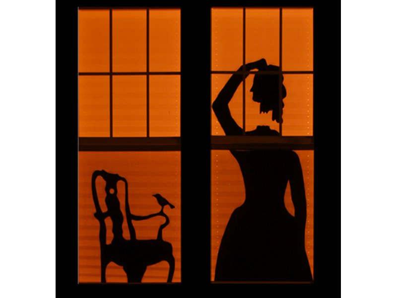 Drawn house ghost house How House Haunted Make: Silhouettes