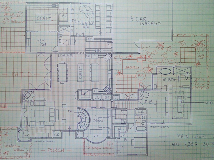 Drawn hosue graph paper My drawn very Pinterest drawing