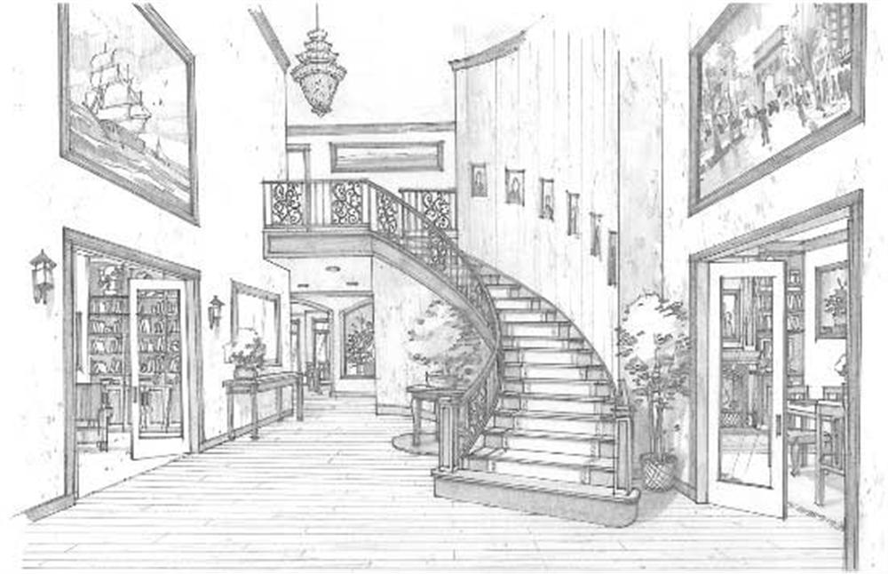 Drawn building contemporary Hand Interior House Friv Drawn