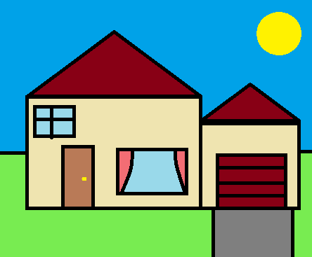 Drawn house ms paint Aveburg Paint The Wiki by