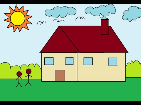 Drawn house ms paint For Children Paint Basic MS