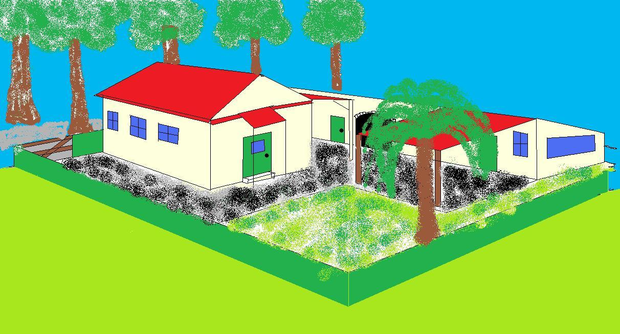 Drawn house ms paint Drawings Of Drawings House #images