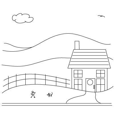 Drawn hosue beginner 101 houses on Pinterest Learn
