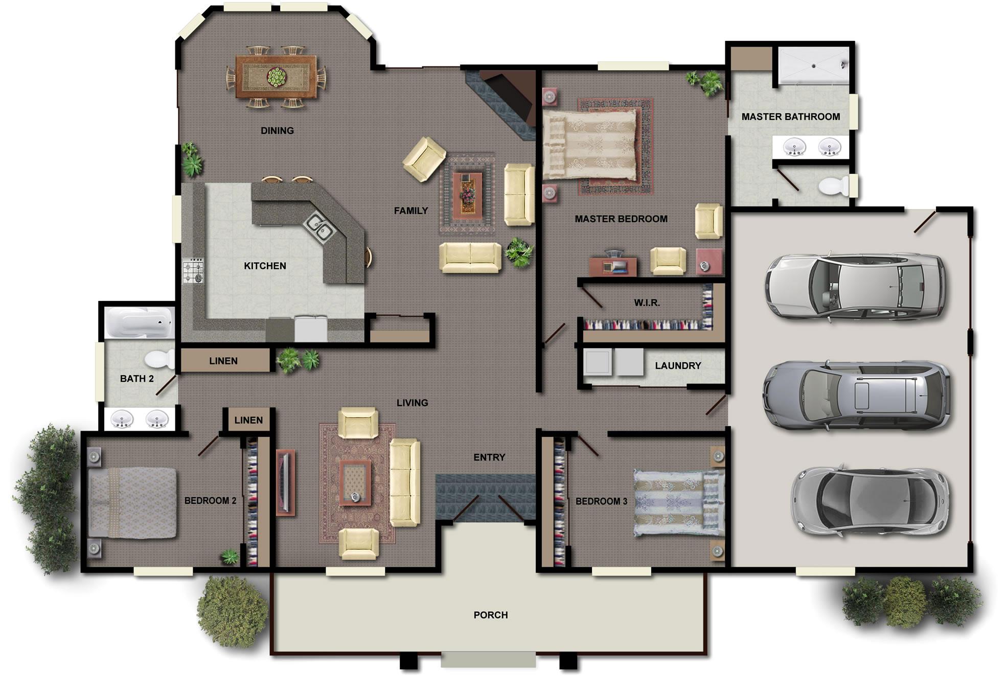 Drawn house own Home Design Home own design