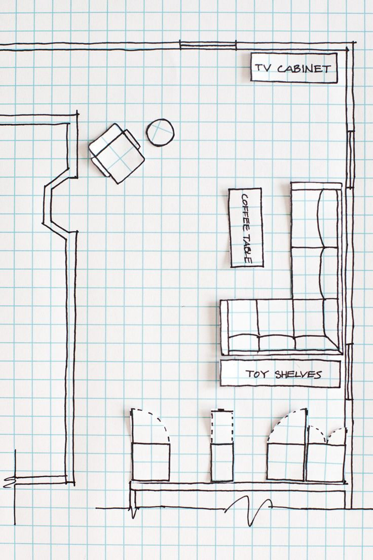 Drawn house own Special or Floor Plan a