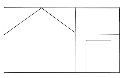 Drawn hosue pakka Step Step to How a