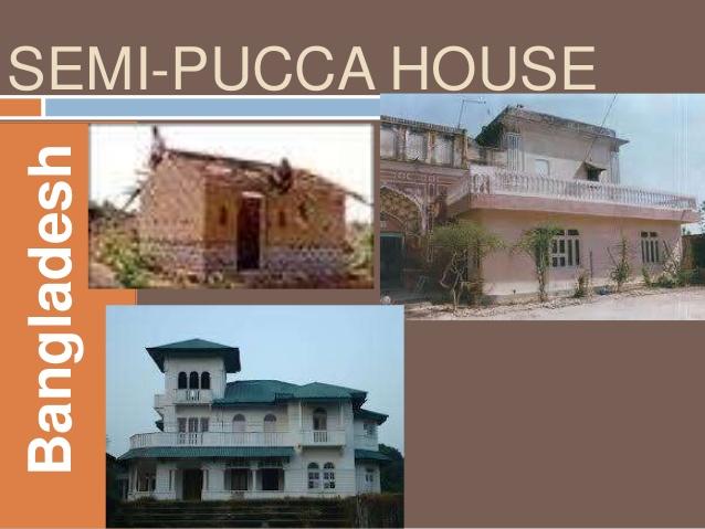 Drawn house SEMI Vernacular Architecture HOUSE Bangladesh