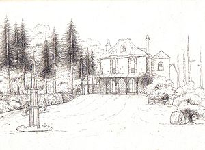 Drawn hosue rich house Woodway Wikipedia House House Woodway