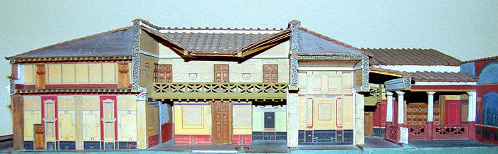 Drawn hosue rich house Roman House The