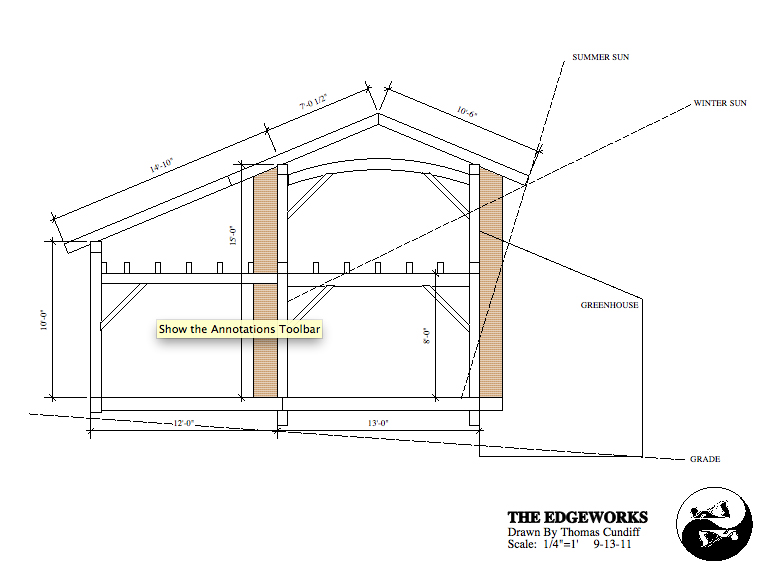 Drawn frame House House Plans: Timber Bale