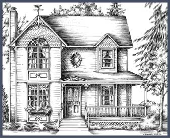 Drawn building old victorian house House Victorian and Houses Victorian