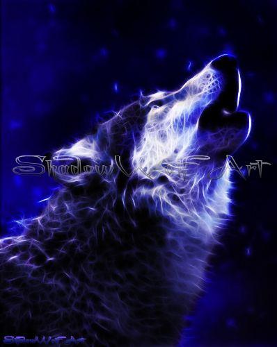 Drawn howling wolf spirit wolf The best Wolves HowlingWolf SpiritSpiritualityWolvesShadowsI