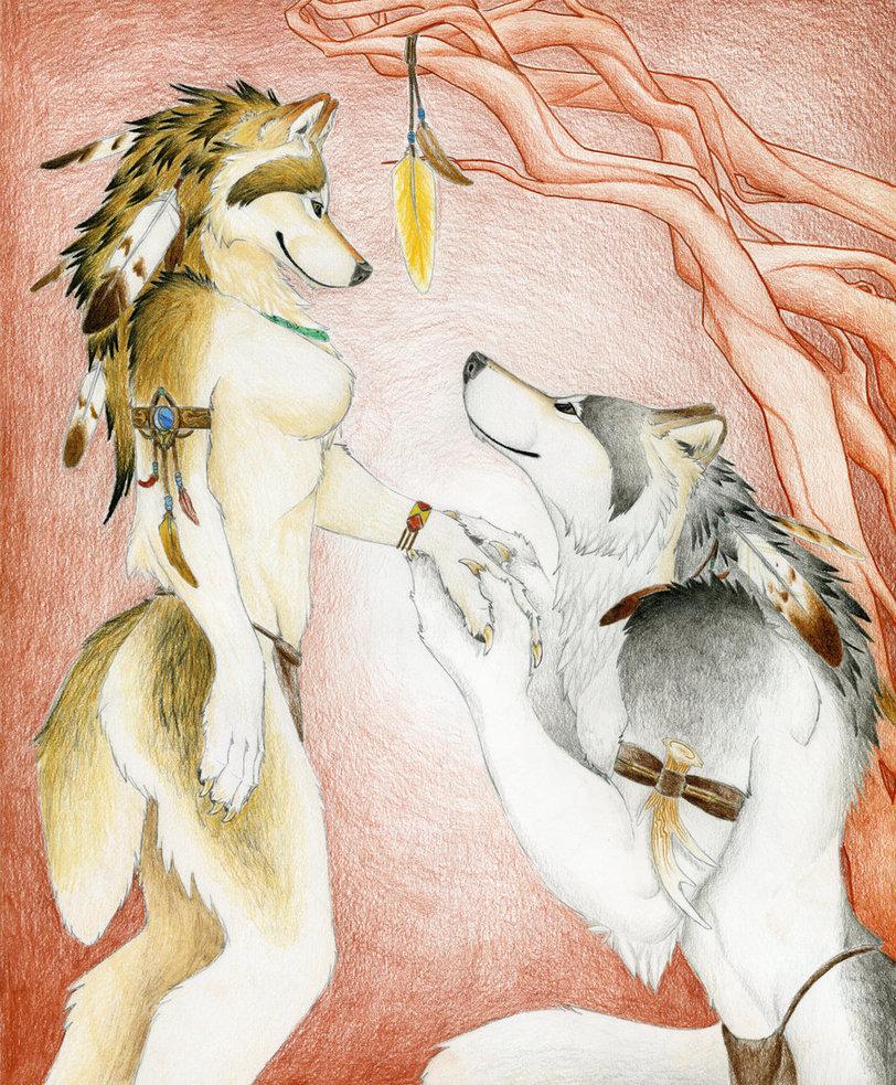 Drawn howling wolf spirit wolf CBHiddenWolf Spirit Wolf Spirit Timber