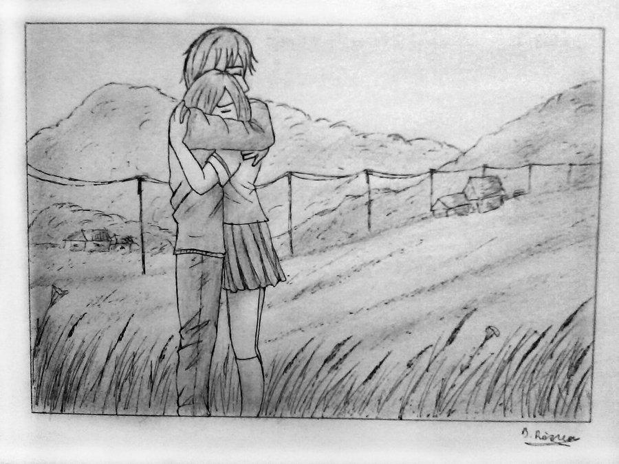 Drawn hug Manga by Hug by TheBRStory