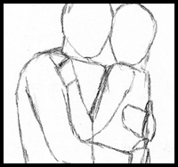 Drawn hug easy In Embraces Easy Four Easy