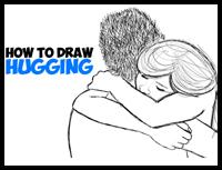 Drawn hug easy Loving Easy  How to