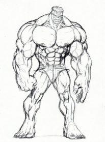 Drawn hulk Drawing Images Hulk Drawing Realistic