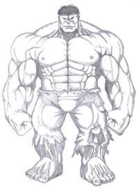 Drawn hulk #12