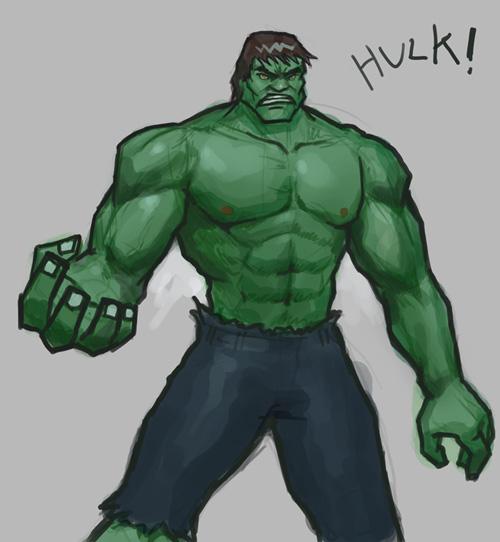 Drawn hulk #14