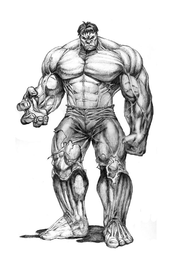 Drawn amd hulk Illustration  Hulk the on