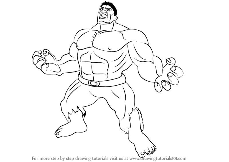Drawn hulk Pencil Drawing Hulk Images Picture